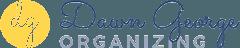 Dawn George Organizing Logo